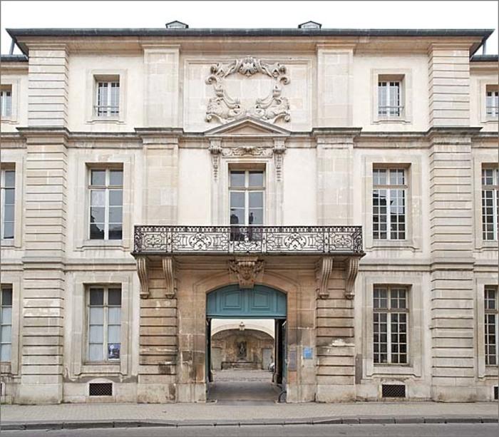 Journées du patrimoine 2019 - L'hôtel Ferraris à Nancy, une œuvre de Germain Boffrand ?
