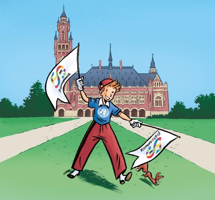 A l'occasion de la semaine de la langue française et du mois de la francophonie 2020, venez célébrer le 9e art aux Pays-Bas.