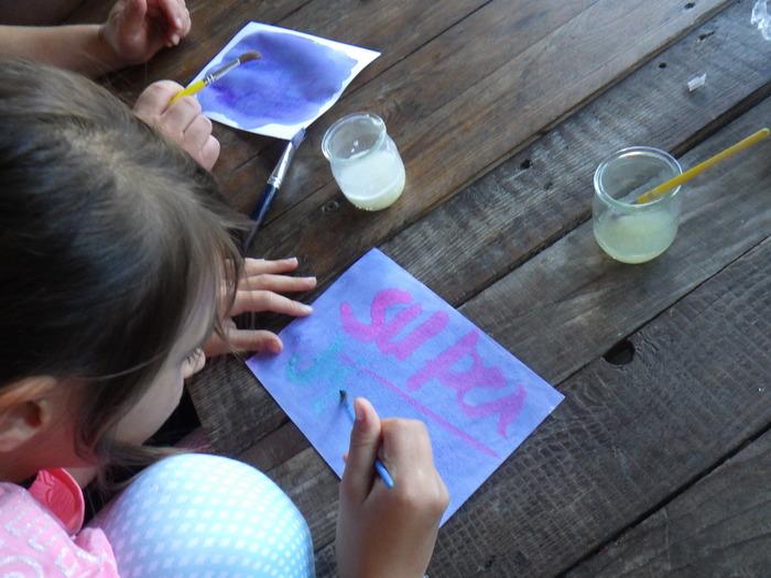 Journées du patrimoine 2019 - Peindre et dessiner avec des végétaux