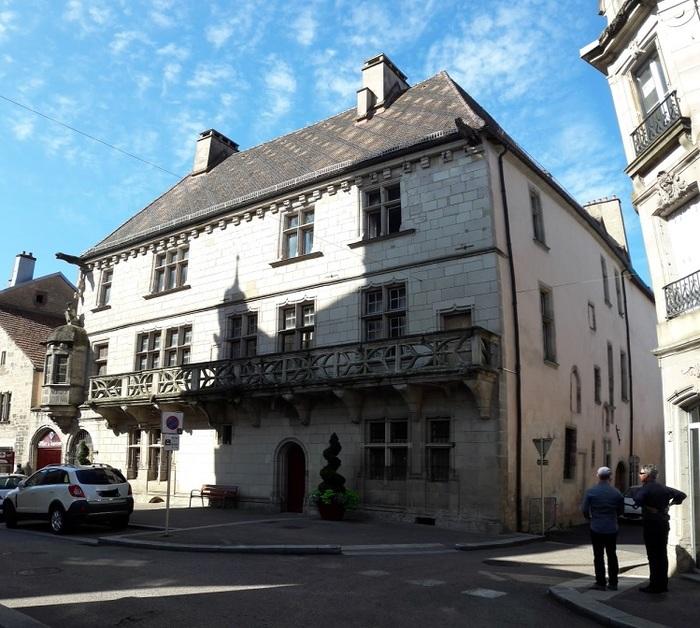 Journées du patrimoine 2019 - Visite commentée de la Maison du Cardinal Jouffroy.