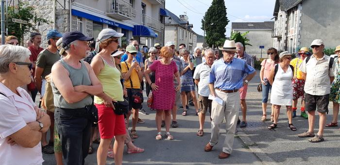 Journées du patrimoine 2020 - Promenade architecturale sur l'architecture et l'histoire des familles de la rue Sainte-Claire à Argentat-sur-Dordogne