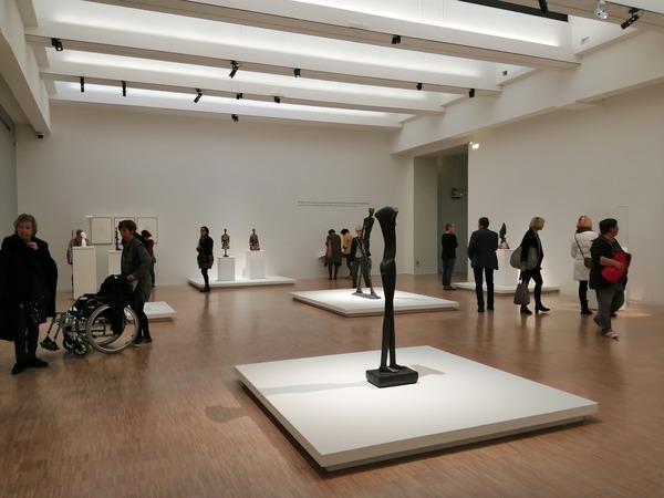 Nuit des musées 2019 -Visites guidées exposition Alberto Giacometti, une aventure moderne