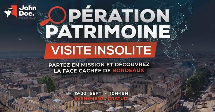 Journées du patrimoine 2020 - Annulé | Visite insolite de Bordeaux