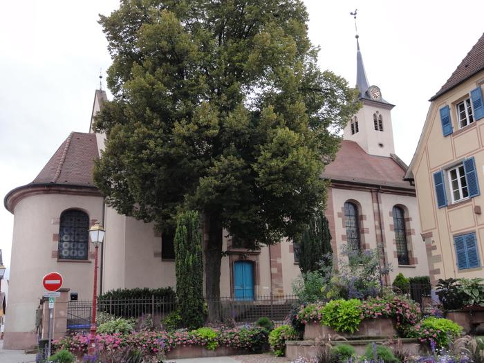 Journées du patrimoine 2019 - Découvrez l'église protestante de la rue principale
