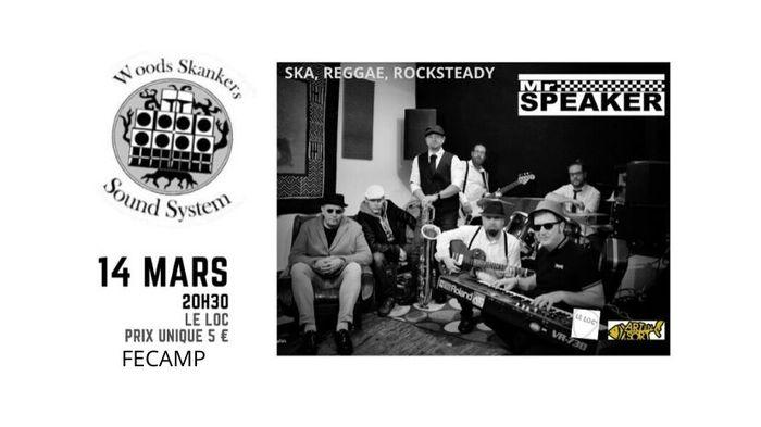 Concert au Loc' à Fecamp - Mr Speaker + Woods Skankers
