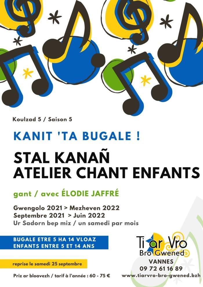 Atelier chant enfants en breton