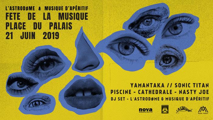 Fête de la musique 2019 - L'Astrodøme x Musique d'Apéritif