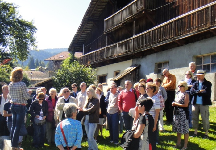 Journées du patrimoine 2020 - Visite du Cordon Historique avec Roselyne, Guide du Patrimoine Savoie Mont-Blanc
