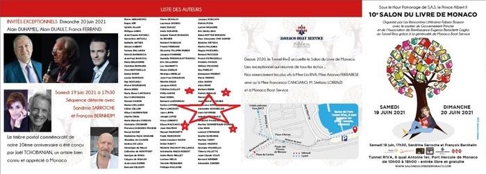 Alexandre Schoedler sera au 10ème salon du livre de Monaco pour ses nouveautés littéraires