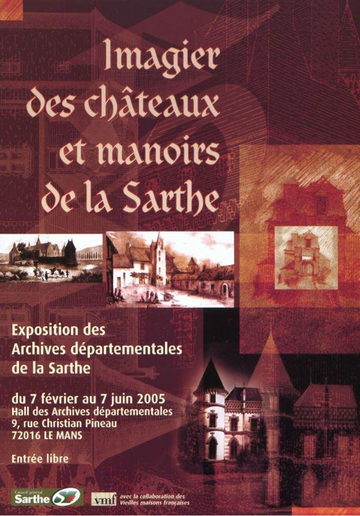 Journées du patrimoine 2020 - Exposition Imagier des châteaux et manoirs de la Sarthe