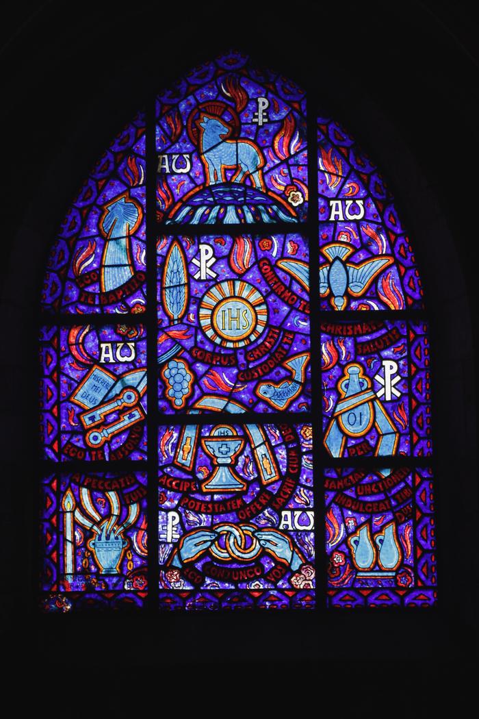 Journées du patrimoine 2020 - Visite audioguidée des vitraux de l'église Saint-Hélier