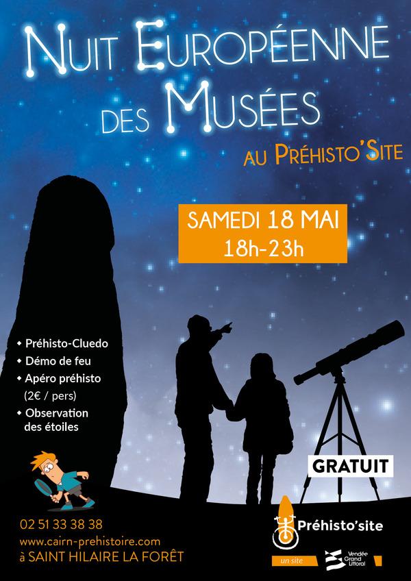 Nuit des musées 2019 -Venez mener l'enquête sur le Préhisto'site !