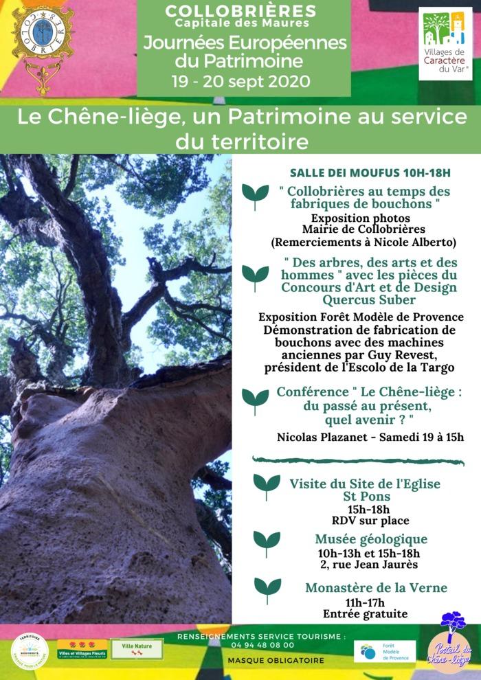 Journées du patrimoine 2020 - Des arbres, des arts et des hommes