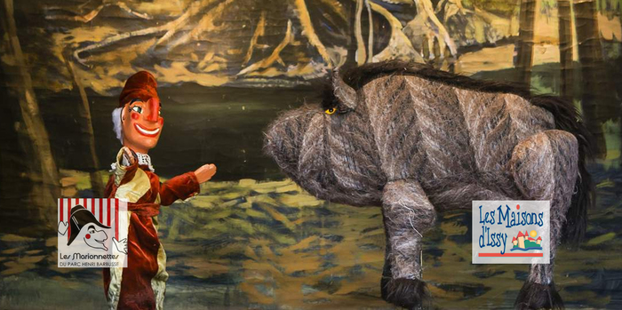«Un animal Glouton» polichinelle place Madaule