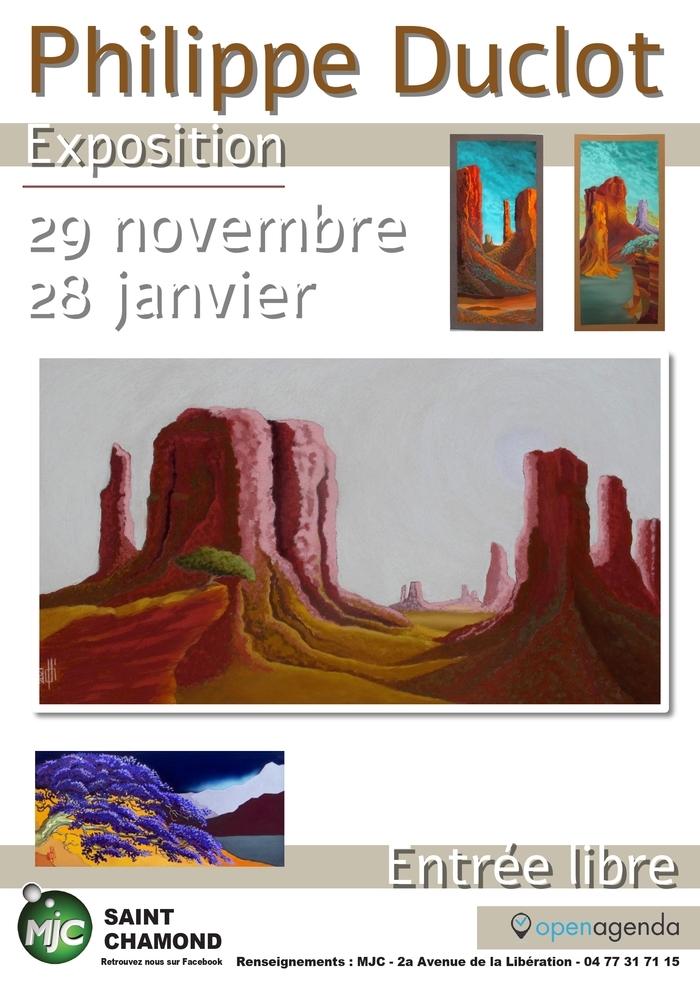 Exposition : Phillipe Duclot