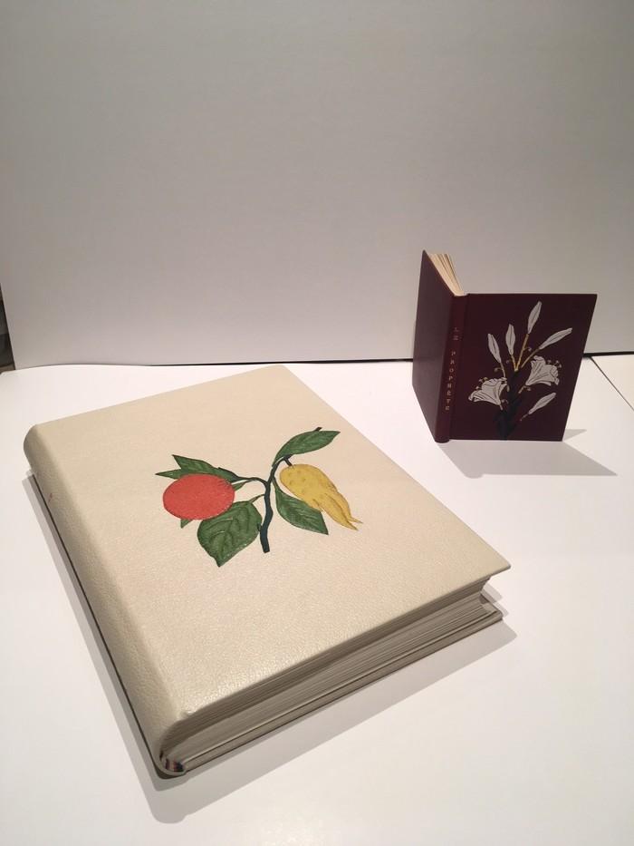 Journées du patrimoine 2019 - Exposition de reliure d'art