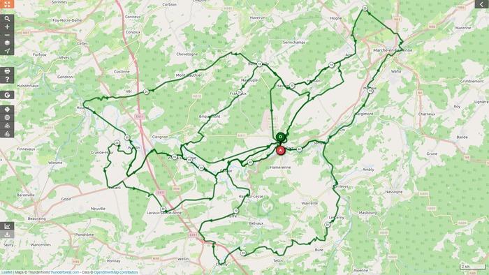 Vélo Club Rochefort - Sortie du dimanche 04 octobre 2020 - Gr. 2