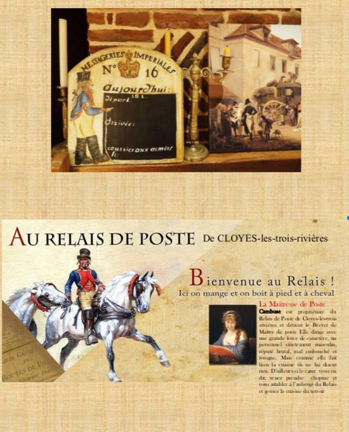 Journées du patrimoine 2020 - Se restaurer comme sous l'Empire au Relais de Poste de Cambuse