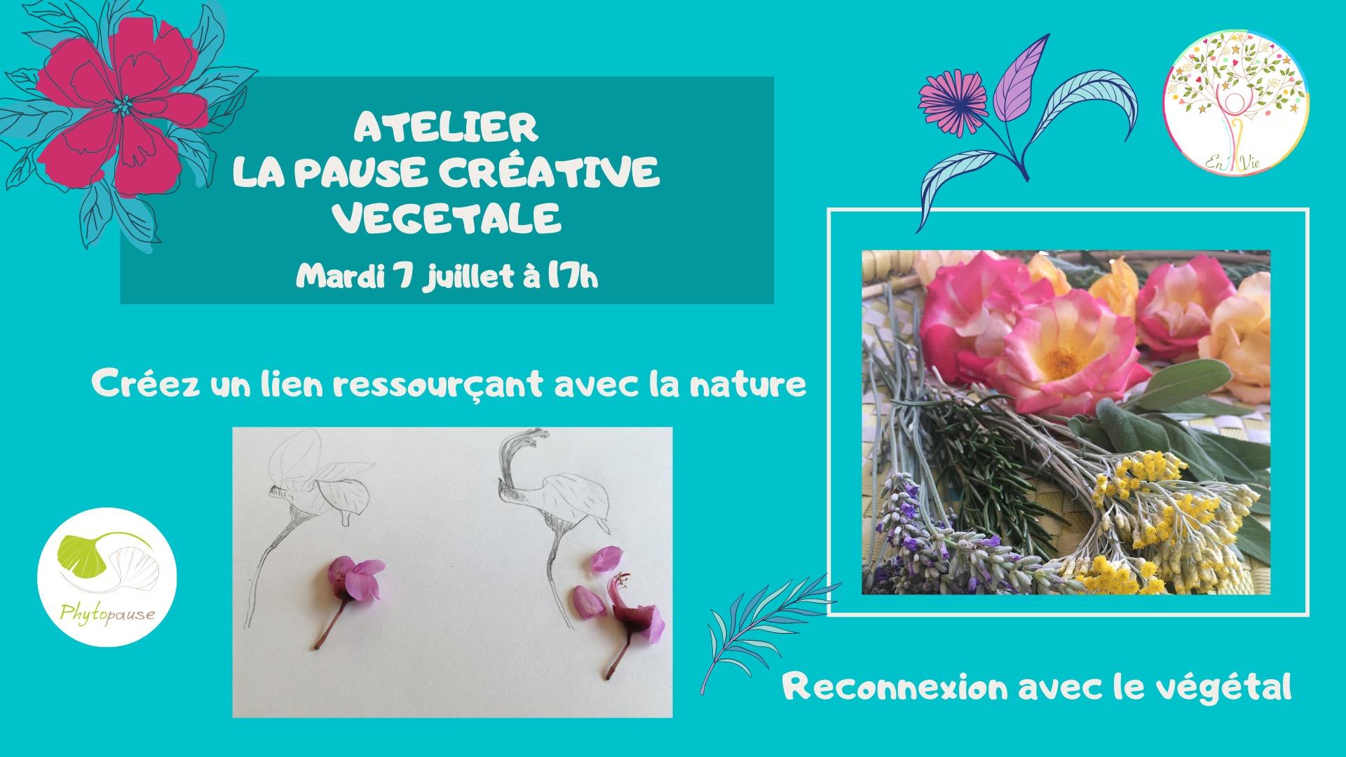 Une invitation de création avec la nature