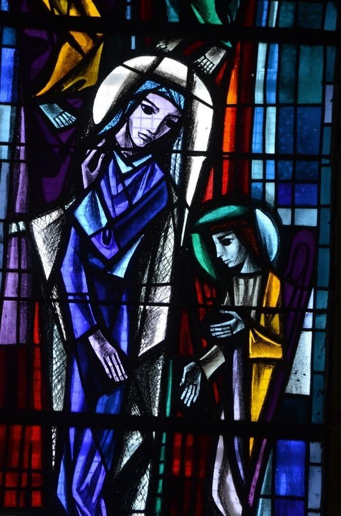 Journées du patrimoine 2020 - Exposition autour des vitraux d'Arthur Schouler dans l'Eglise Saint-Rémi