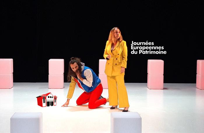 Journées du patrimoine 2020 - Les ateliers théâtre de Nicolas Hocquenghem avec les comédiennes et les comédiens de la troupe d'artistes du théâtre de Bligny
