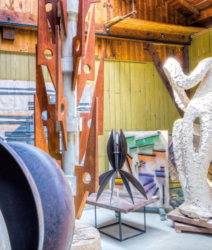 Journées du patrimoine 2019 - Visite de l'atelier Descombin