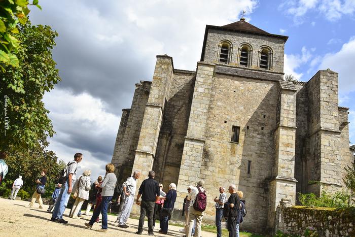 Journées du patrimoine 2020 - Visites guidées de l'église du Chalard et du cimetière des moines