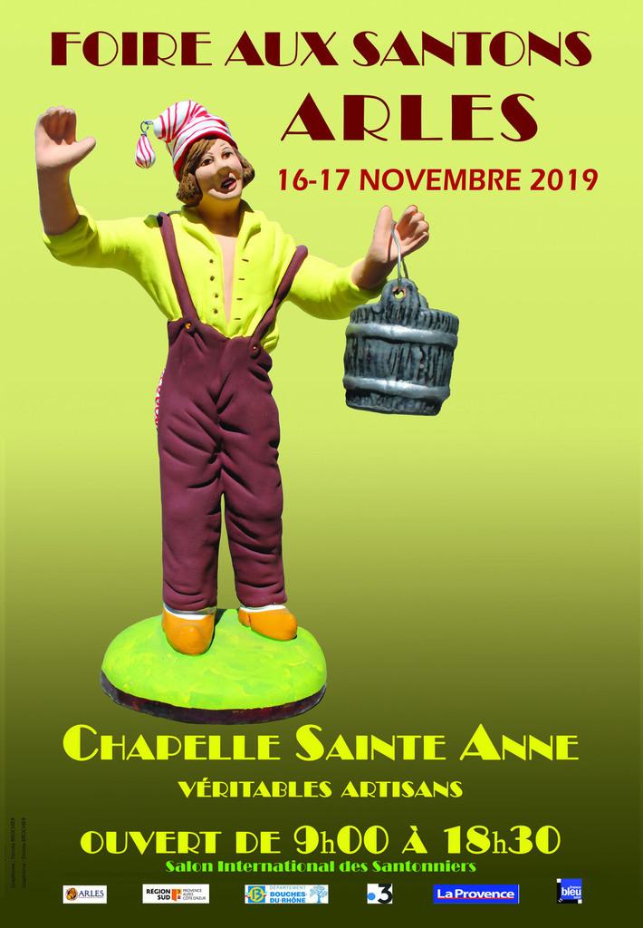 Organisée par l'équipe du Salon International des Santonniers d'Arles