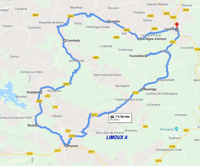 Journées du patrimoine 2019 - Circuit de visites autour de Limoux