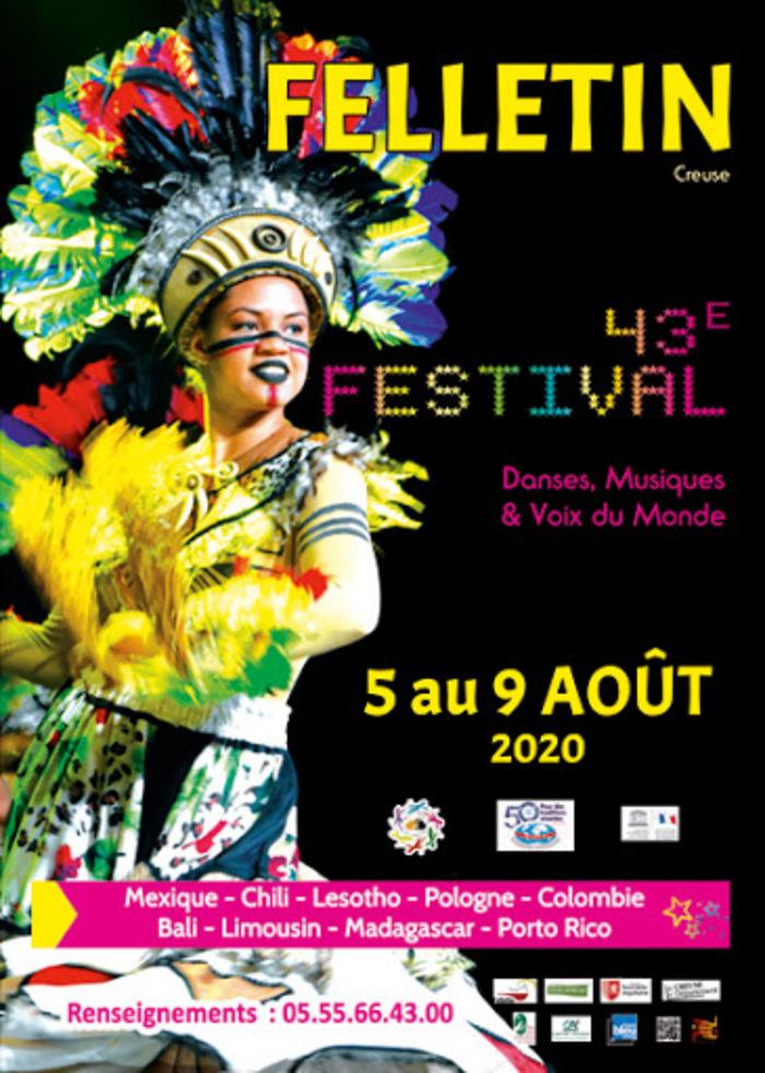 [ANNULE]  <strike>Festival Danses, Musiques et Voix du Monde</strike>