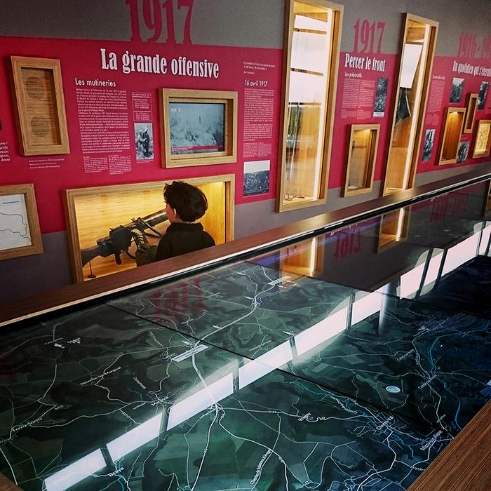 Journées du patrimoine 2020 - Ouverture du Centre d'Accueil du Visiteur du Chemin des Dames - Caverne du Dragon