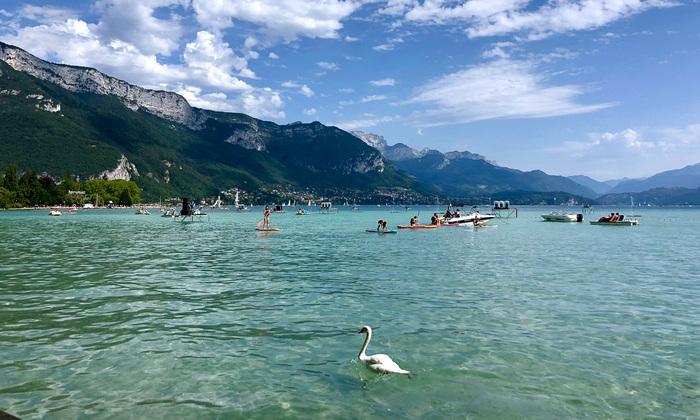Sortie au lac d'Annecy