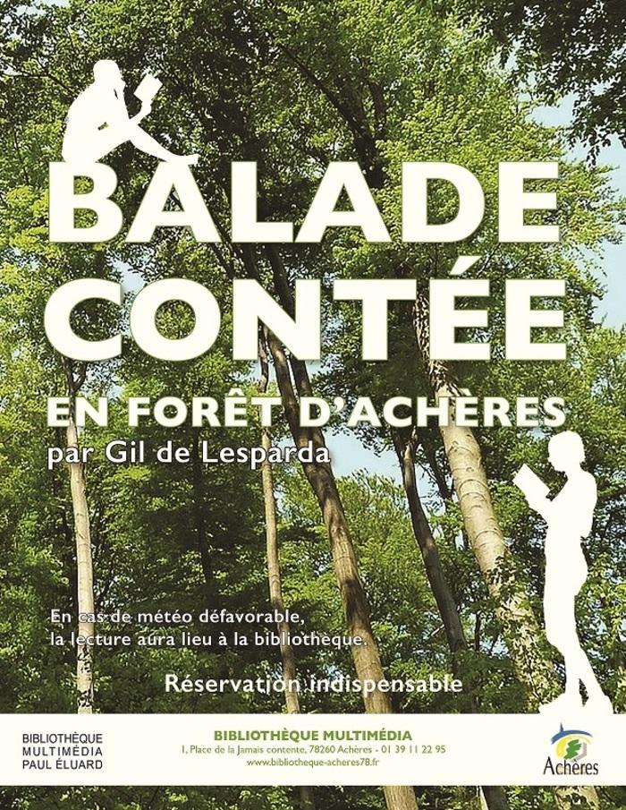 Journées du patrimoine 2019 - Balade contée en forêt d'Achères