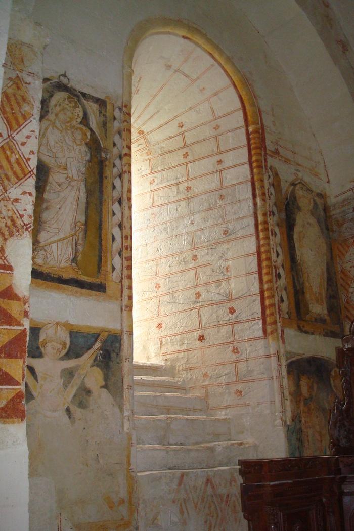 Journées du patrimoine 2020 - Découverte d'une église du XIe siècle et de ses peintures murales des XIVe et XVe siècles