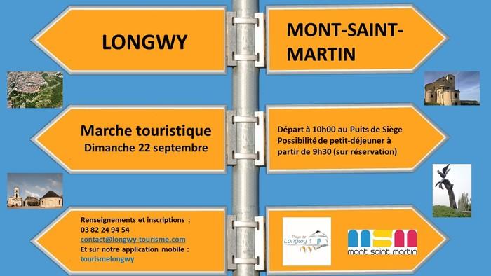 Journées du patrimoine 2019 - Marche touristique de Longwy à Mont-Saint-Martin