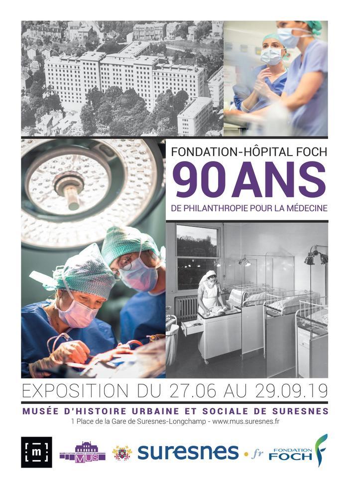 Journées du patrimoine 2019 - Visite guidée de l'exposition temporaire du MUS : Fondation Hôpital-Foch, 90 ans de philanthropie pour la médecine