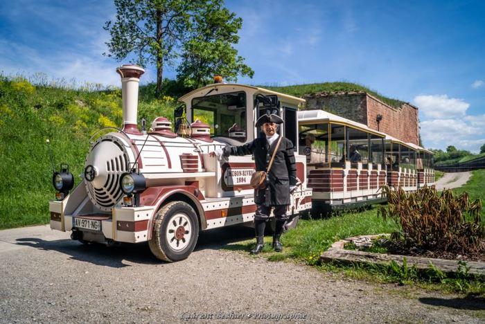 Journées du patrimoine 2019 - Visite de Neuf-Brisach en petit train touristique