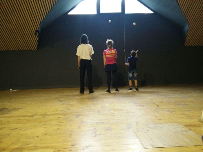 Journées du patrimoine 2019 - Atelier jongle parent/enfant avec le Collectif Petit Travers