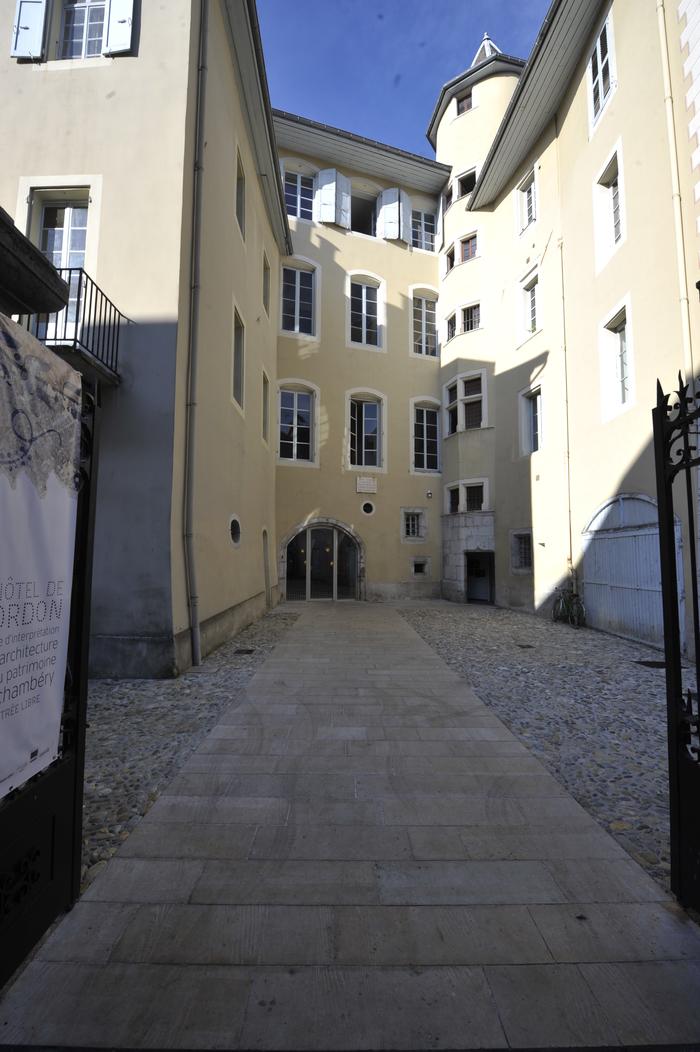 Journées du patrimoine 2020 - L'Hôtel de Cordon - Centre d'interprétation de l'architecture et du patrimoine :