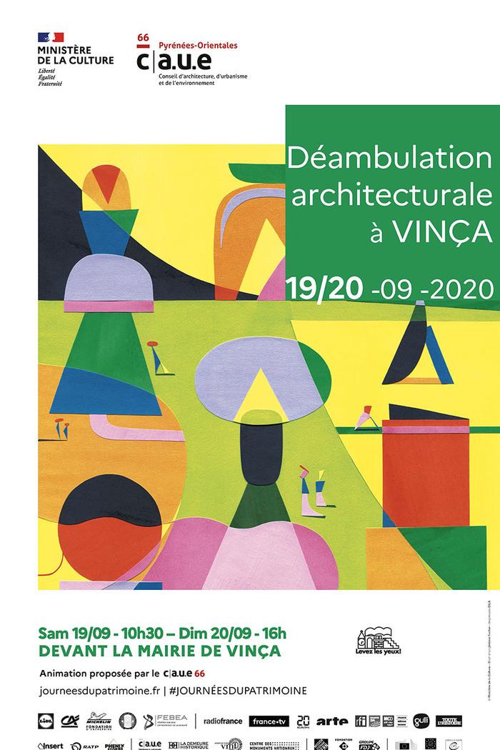 Journées du patrimoine 2020 - Déambulation architecturale