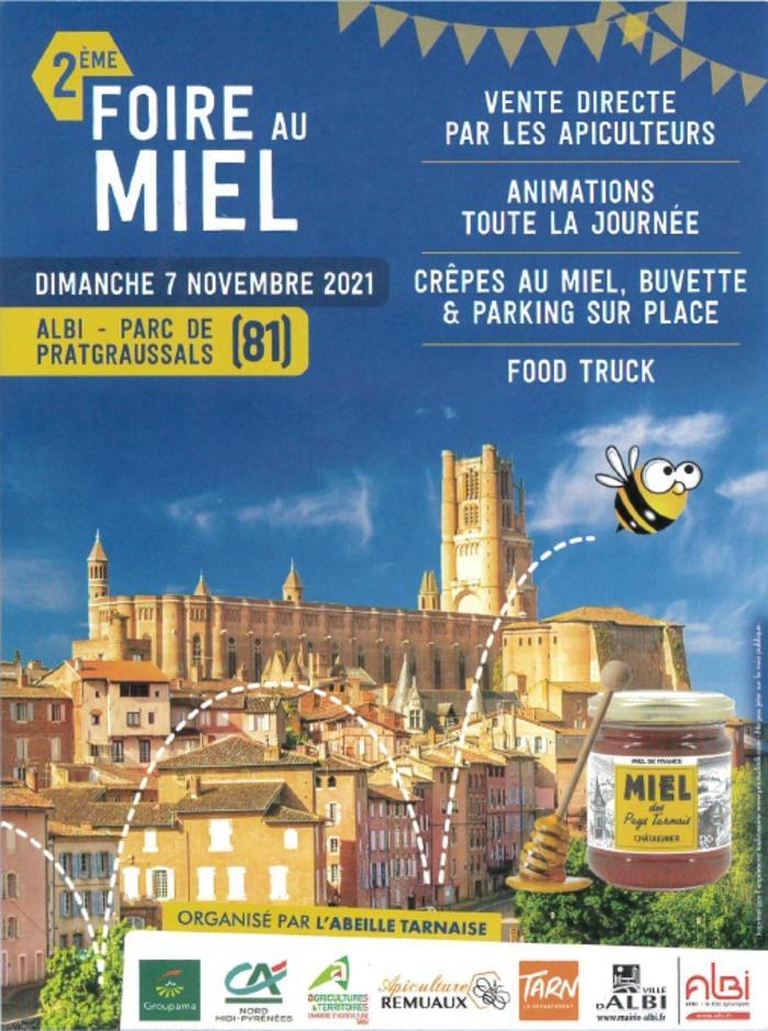 Venez assister à la 2e édition de la Foire au Miel d'Albi organisée par l'Abeille Tarnaise