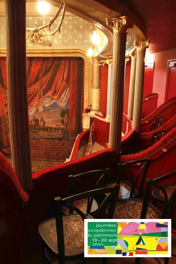 Journées du patrimoine 2020 - Théâtre Blossac de Châtellerault