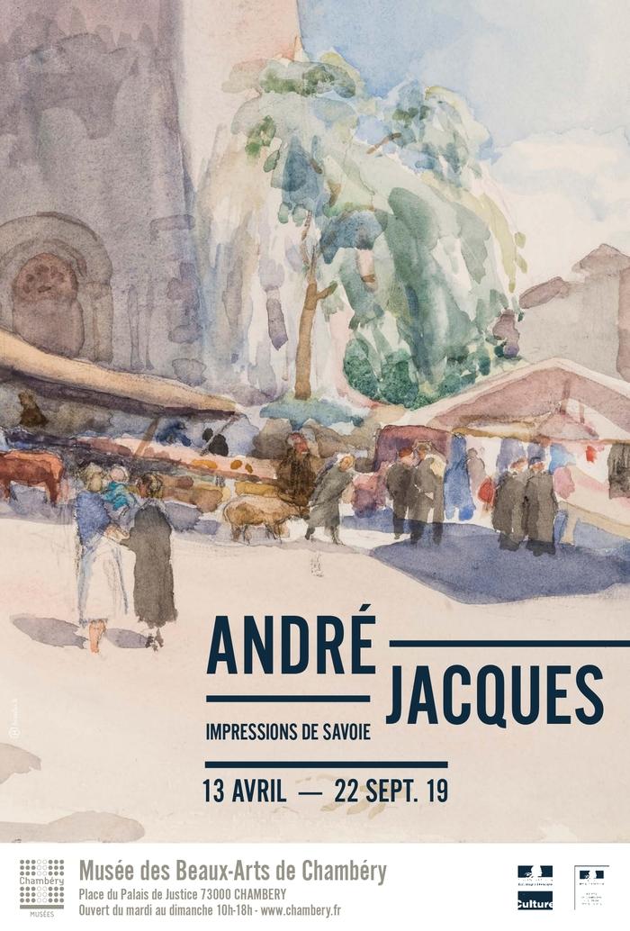 Journées du patrimoine 2019 - Visite flash « André Jacques - Impressions de Savoie »