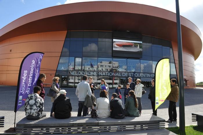 Journées du patrimoine 2020 - Visite guidée du Vélodrome national de Saint-Quentin-en-Yvelines