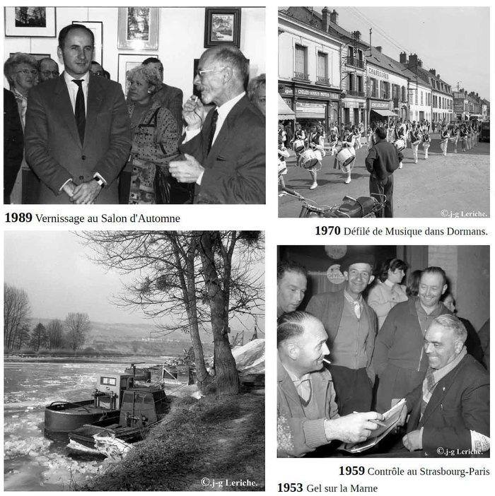 Journées du patrimoine 2019 - Hommage à Jean Leriche, Dormans de 1950 à 1990, derniers jours.