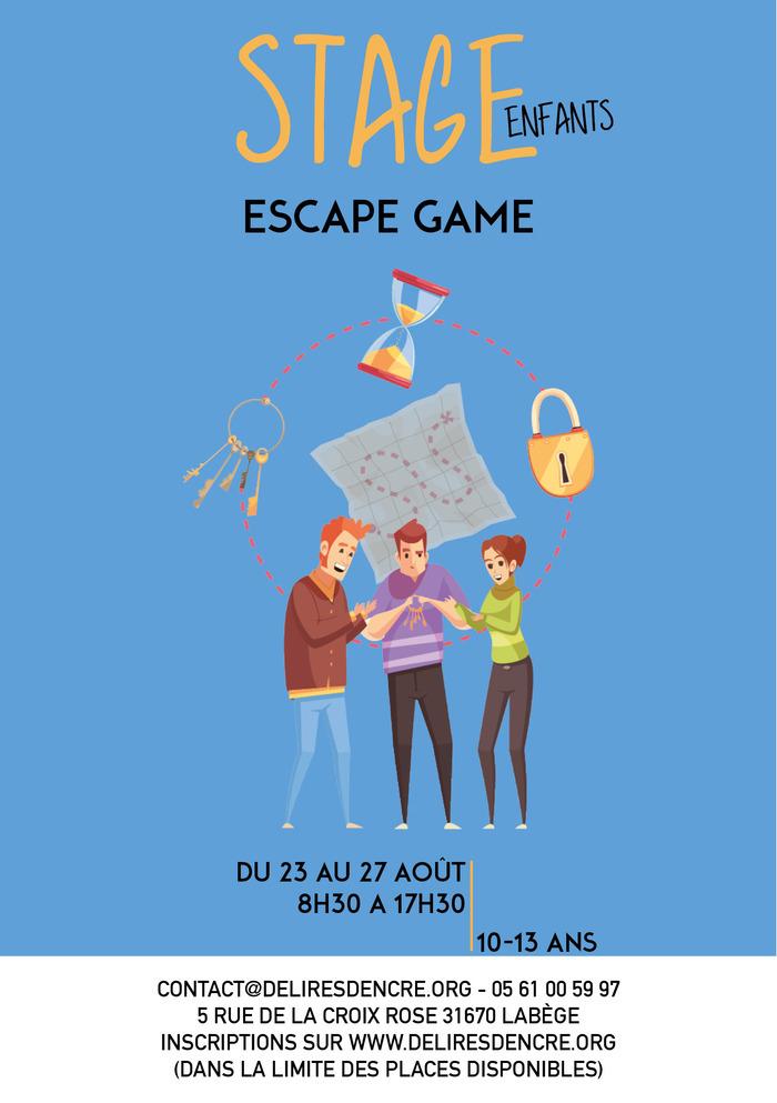Stage enfants : Escape game