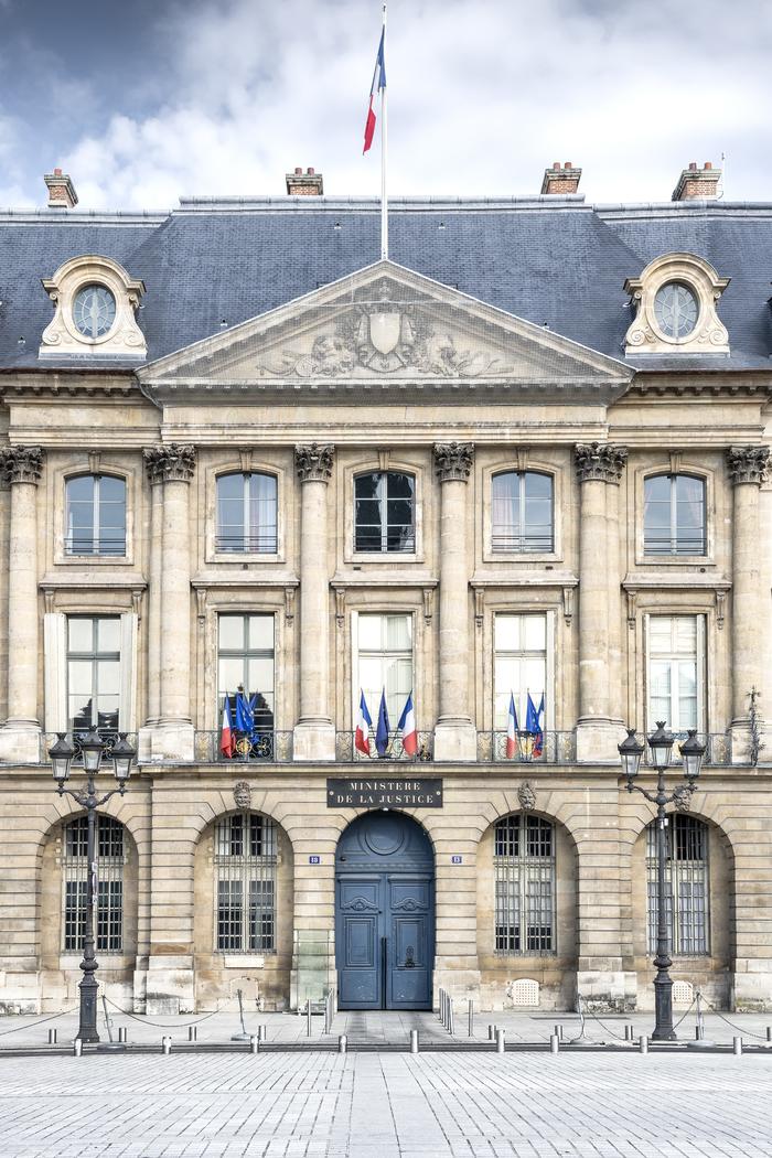 Journées du patrimoine 2020 - ANNULÉ - Visite libre des salons de l'Hôtel de Bourvallais, siège du ministère de la Justice