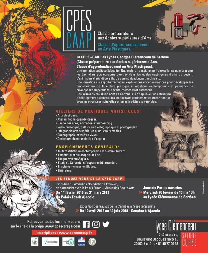Journées du patrimoine 2020 - Annulé | Exposition d'Arts de la CPES-CAAP du lycée Georges Clemenceau