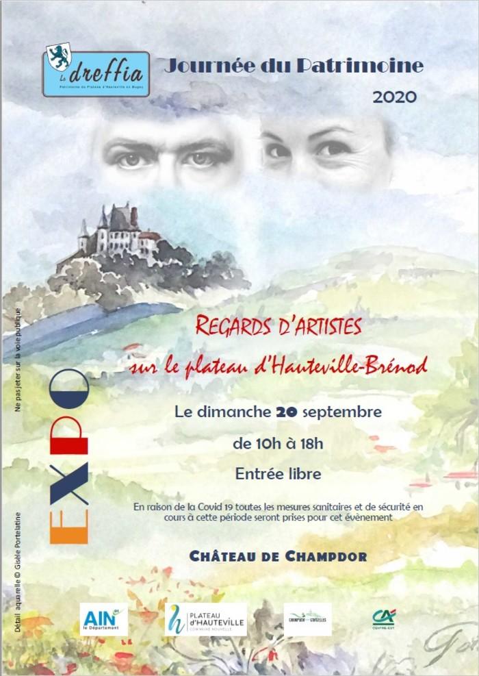 Journées du patrimoine 2020 - Exposition organisée par l'association