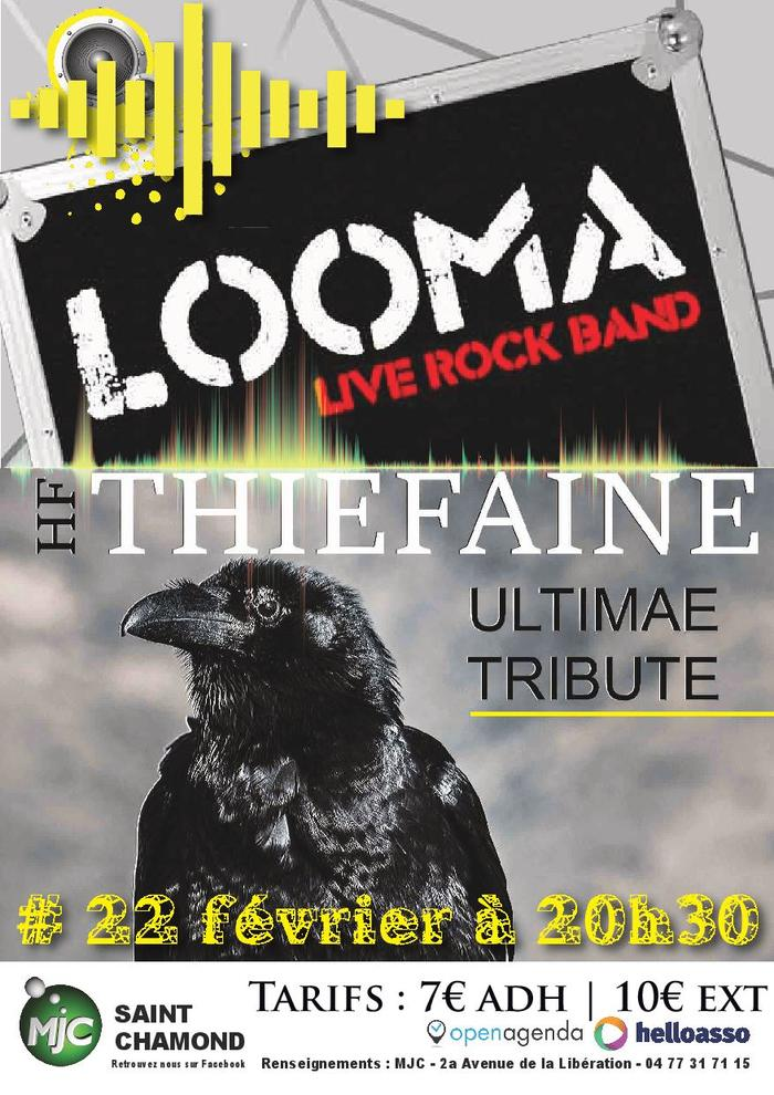 Concert Looma et Thiefaine Ultimate Tribute